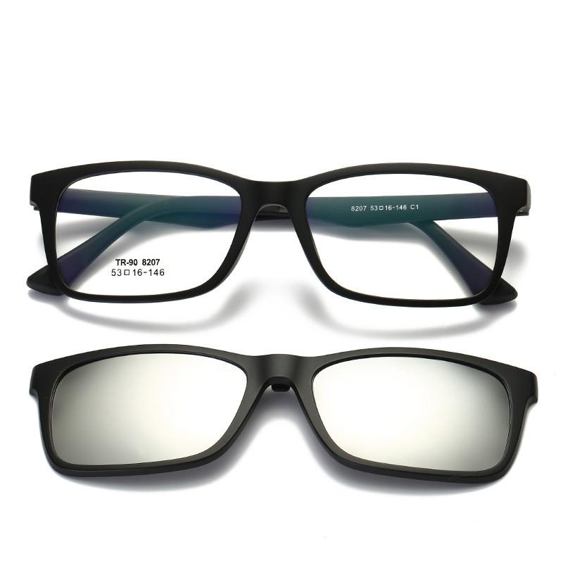 3c4275c42b Vazrobe TR90 Magnetic Myopia Sunglasses Men Women Double Lens Polarized Sun  Lenses Anti Glare UV400 Mirror Tinted Driving Shades-in Sunglasses from  Apparel ...