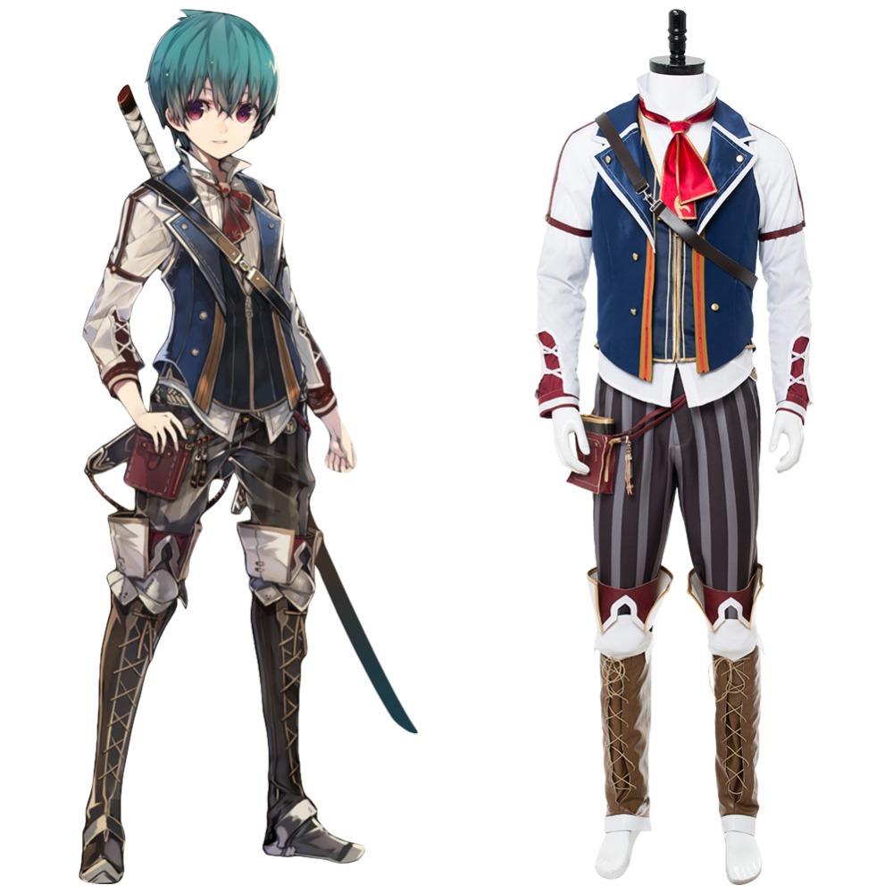 Grimms Notes personnage principal EX tenue costume adulte hommes ensembles complets Halloween Canrival fête Cosplay Costumes