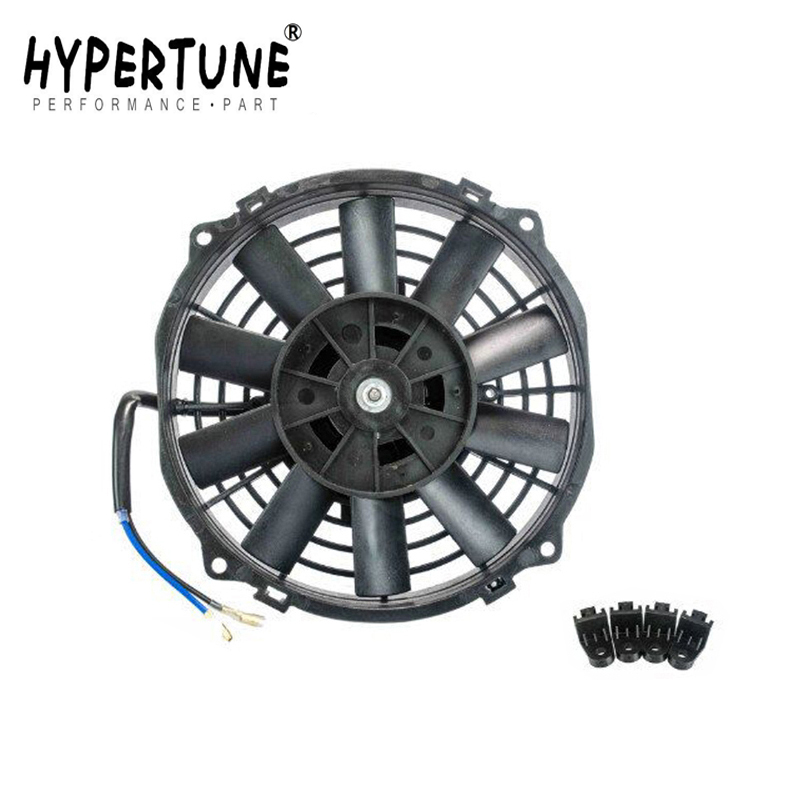 Fans & Kits 9 Inch Universal 12v 80w Slim Reversible Electric Radiator Auto Fan Push Pull With Mounting Kit Type I 9 Ht-fani9 Convenient To Cook Aggressive Hypertune