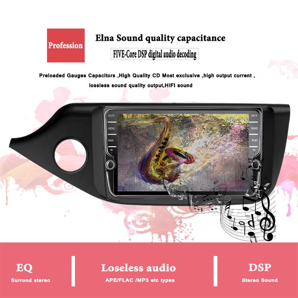 Flash Deal Android 9.1 IPS Octa core 4+64g Car Multimedia Player For KIA Ceed 2013 2014 2015 2016 Audio Radio Headunit 2din Carplay DSP MAP 7