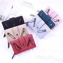 New Designer Famous Brand Luxury Women's Wallet Purse Female Small wallet perse Portomonee portfolio lady short carteras zipper 2017 designer famous brand luxury women wallet purse female small walet cuzdan perse portomonee portfolio lady short carteras