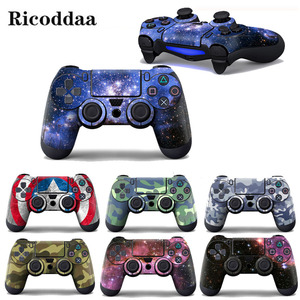 Star Skies Camouglage Vinyl Decal Skin Sticker For Sony Playstation 4 Controller Protector Skin Cover For PS4 Controle Accessory