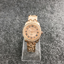 CONTENA Fashion Roman numerals Wrist Watch Women Luxury Bracelet Watches Diamond Women's Watches Rose Gold Ladies Watch Clock