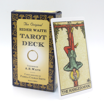 The Original Rider Waite Tarot Deck Full English Tarot Cards Game With English Booklet Instructions Tarot Board Game