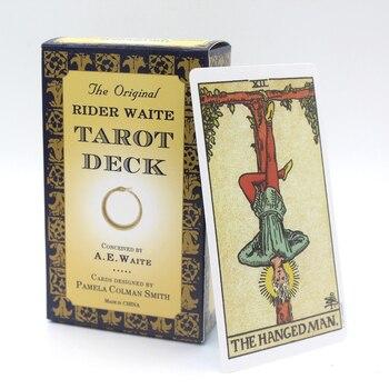 The Original Rider Waite Tarot Deck Full English Tarot Cards Game With English Booklet Instructions Tarot Board Game