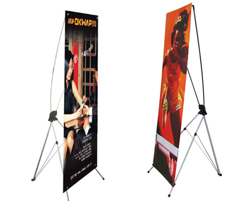 60cm 160cm/80cm 180cm Economical X Banner Stand,Portable X Frame ...