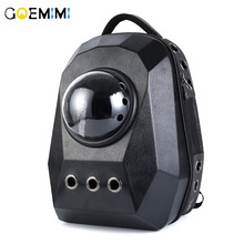 New Arrival Pet Cat Backpack Space Capsule Astronaut Carrierl Breathable Bubble Window for Kitty Puppy outdoor Carrier