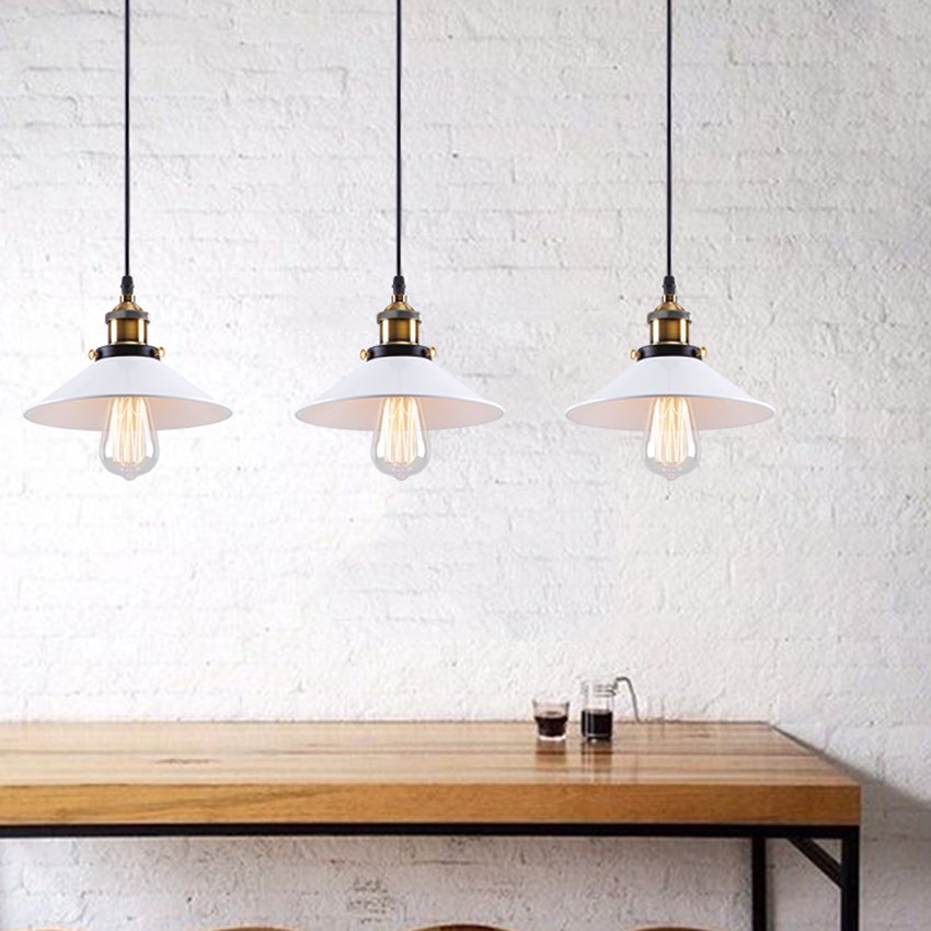 [DBF]Industrial Pendant Lights Vintage Pendant Lamp Edison Retro Hanging Lampshade Lighting Restaurant /Bar/Coffee Shop Luminari[DBF]Industrial Pendant Lights Vintage Pendant Lamp Edison Retro Hanging Lampshade Lighting Restaurant /Bar/Coffee Shop Luminari
