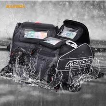 Menat Magnet Motorcycles Fuel Tank Bags Waterproof Motorcycle Helmet Bag Moto Motocross Travel Luggage Suitcase Phone GPS