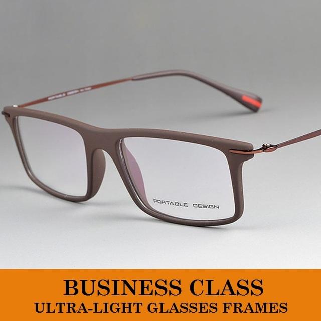 Marca Design Ultem Material Design Ultraleve Óculos de Miopia Óculos De Armação de Prescrição Óculos Frames