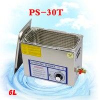 1 шт. 110 В/220 В PS 30T 180W6L ультразвуковые машины для очистки детали для печатной платы лабораторный очиститель/электронные продукты и т. д.