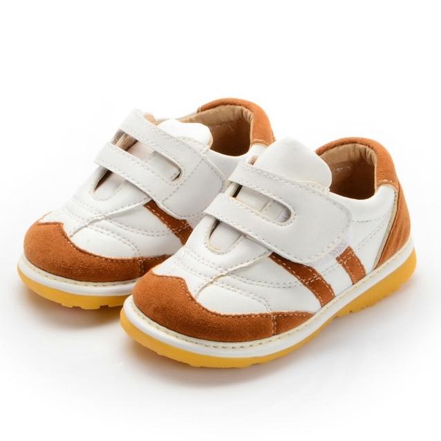 Primavera Do Bebê Do Outono Menino Sneaker Sapatos Squeaky Sapatos de Sola Antiderrapante Criança Sapatos Frete Grátis