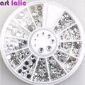3D Decoración de Uñas de Diamante De Acrílico Formas Rhinestones Para Uñas Accesorios de Arte