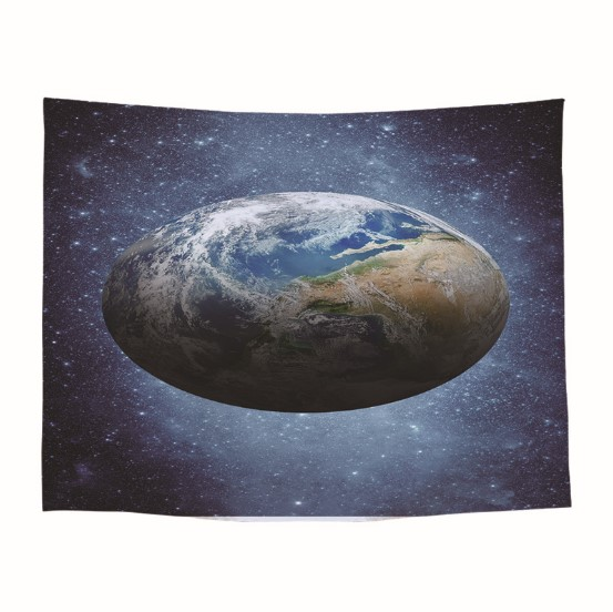 CAMMITEVER Earth Tapestry Planet The Space at Night Galactic Astronomy Themed Ethereal Image Wall Hanging