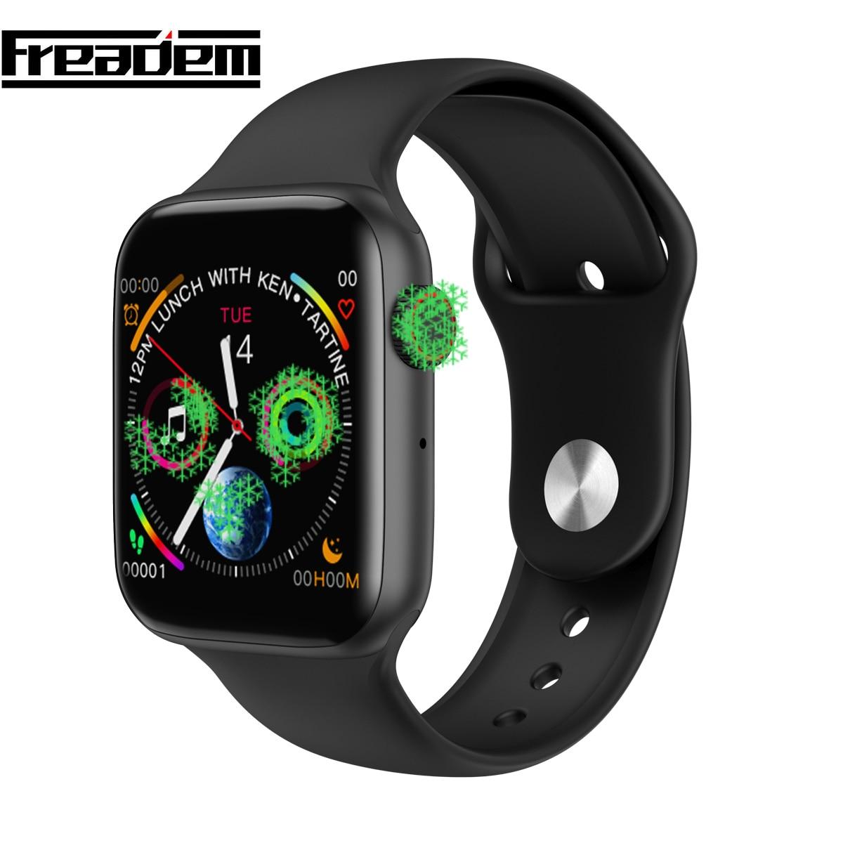Monitor De Freqüência Cardíaca Do Bluetooth Relógio Inteligente Série 4 44 Caso mm para IOS android smartwatch Pedômetro relogio inteligente PK IWO 6 8