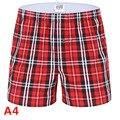 Material bueno para sano de Pijama de algodón Pantalones Pantalones Para Hombre Del Sueño Para Hombre Pantalones Cortos de Sueño 325