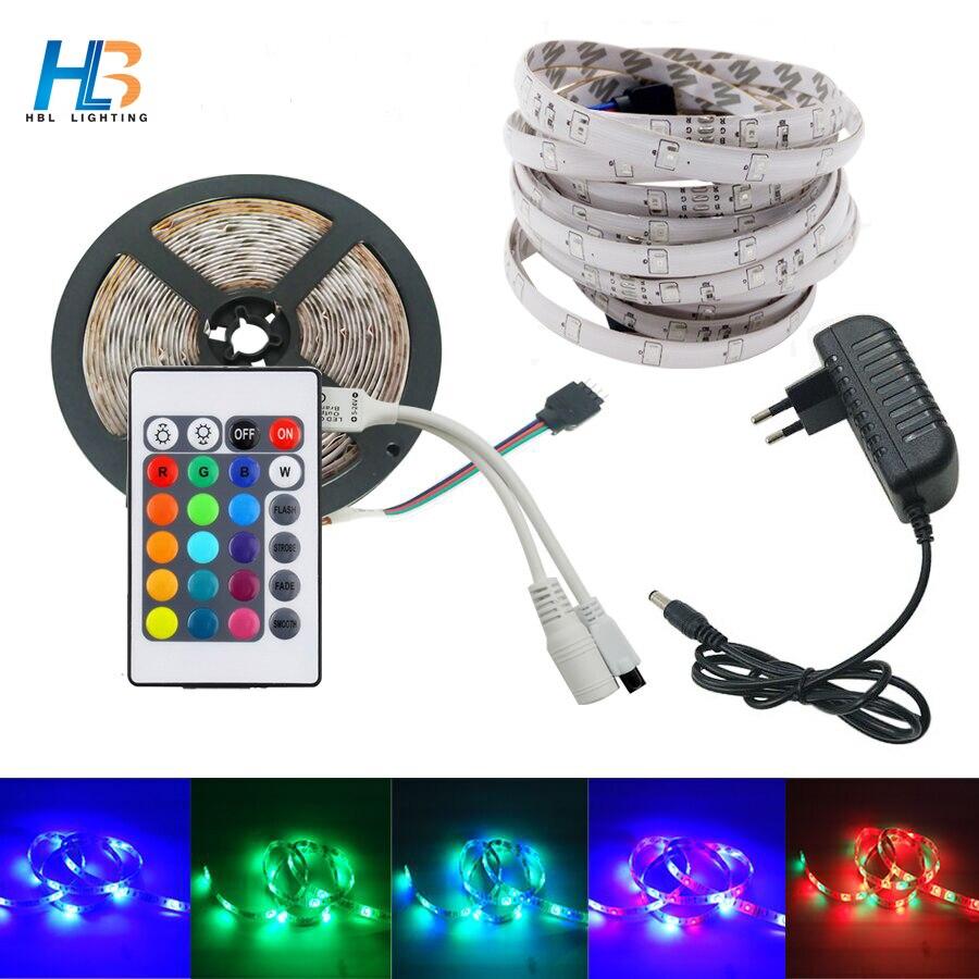 hbl-10m-5m-2835-rgb-led-strip-fontblight-b-font-3528-smd-ip65-waterproof-dc12v-adapter-24keys-remote