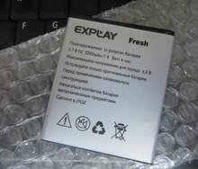 цена на hot explay fresh battery 3.7V Factory Price New 100% Replacement Li-ion Battery For Explay Fresh High Quality