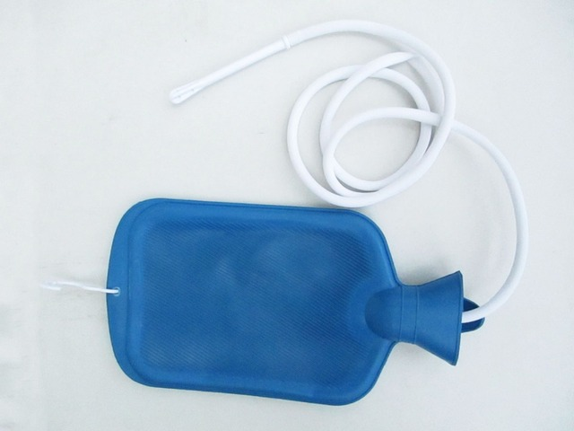 Porous enema water bag shower type of intestinal cleaner vaginal washing anal sex toys