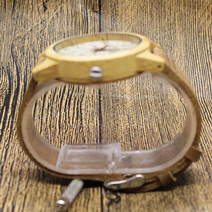 Aismei Men Women Wood Quartz Watches Musical signs Dial Bamboo Wood WristWatch fashion Gfit Casual Watch Relogio Masculino