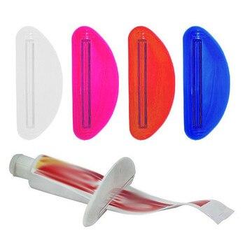 Dropshipping Tutti I nuovi 1PCS Accessori Per il Bagno Supporto In Plastica Tubetto di Dentifricio Squeezer Dispenser Holder Rotolamento Bagno Estratto