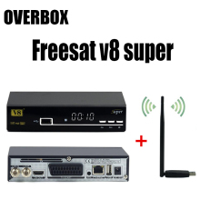 Spain freesat V8 Super DVB-S2 Powervu Youporn IPTV Satellite Receiver usb wifi set top tv box