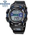 Pasnew reloj deportivo hombres 2017 reloj masculino de cuarzo led digital relojes de pulsera de los hombres de primeras marcas de lujo digital de reloj relogio masculino