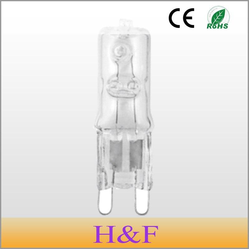 HoneyFly 20 teile/los G9 Halogenlampe Glühbirne 220 V Kapsel Klar kristall Licht...