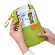 Lhlysgs бренд женщин организатор проездной документ Держатель карты кошелек Мужская мода длинные сертификат для паспорта Упаковка карман карты пакет