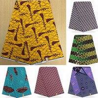 Wholesale! 2019 New Arriva 100%Cotton African Wax Cloth Hollandais Wax African Dutch Wax 6Yards/Piece ! L121725
