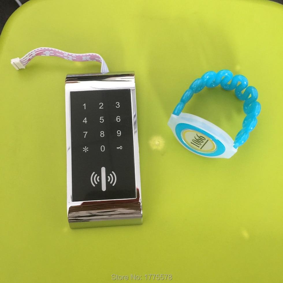 digital 125khz RFID lock, Electronic locker ,keypad cabinet lock,Touch keycard locker lock, sauna lock high quality universal metal electronic digital rfid gym magnetic locker lock