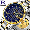 Switzerland luxury men's watch brand Mechanical Wristwatches 50 ATM Waterproof Tuo fly wheel watches full stainless steel