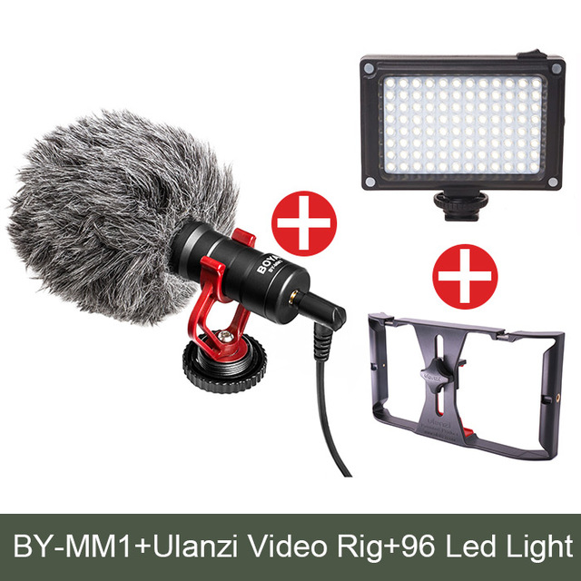 BOYA BY MM1 Video Record Microphone Compact VS Rode VideoMicro On Camera Recording Mic for iPhone X 8 7 Huawei Nikon Canon DSLR -in Microphones from Consumer Electronics on Aliexpress.com   Alibaba Group