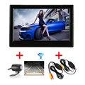 Monitor de Visão Traseira do carro Sem Fio 5 Polegada TFT LCD Reverter Back Up Sistema de Exibição com Suporte de Sucção + Mini Câmera