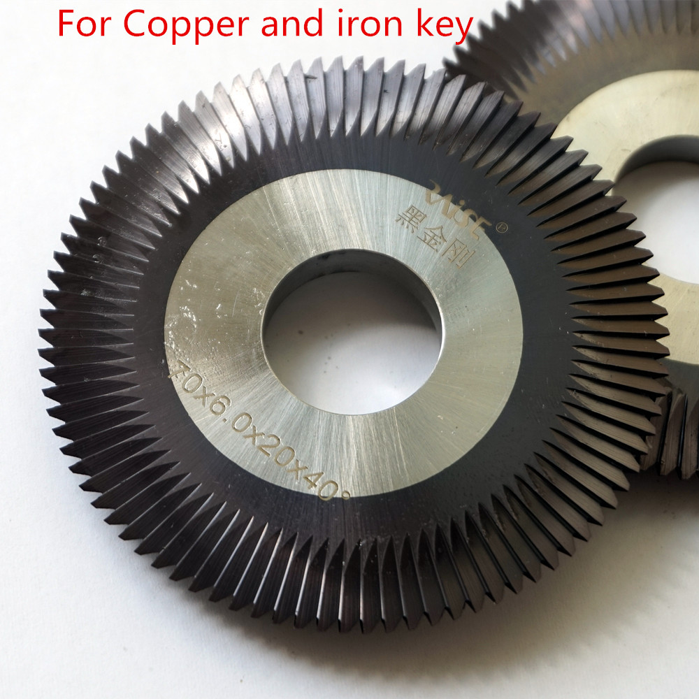 Milling Cutter 0012 For Wenxing Key Cutting Machine 888A 888C & Gladaid GL-368A,KL-918,888A,333A For Copper And Iron Key