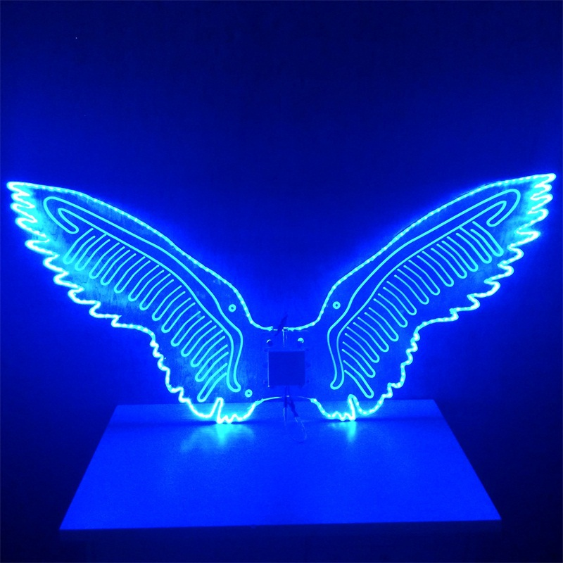 Accept Custom Wings Costume Led Light Wings For Women And Men Stage ...