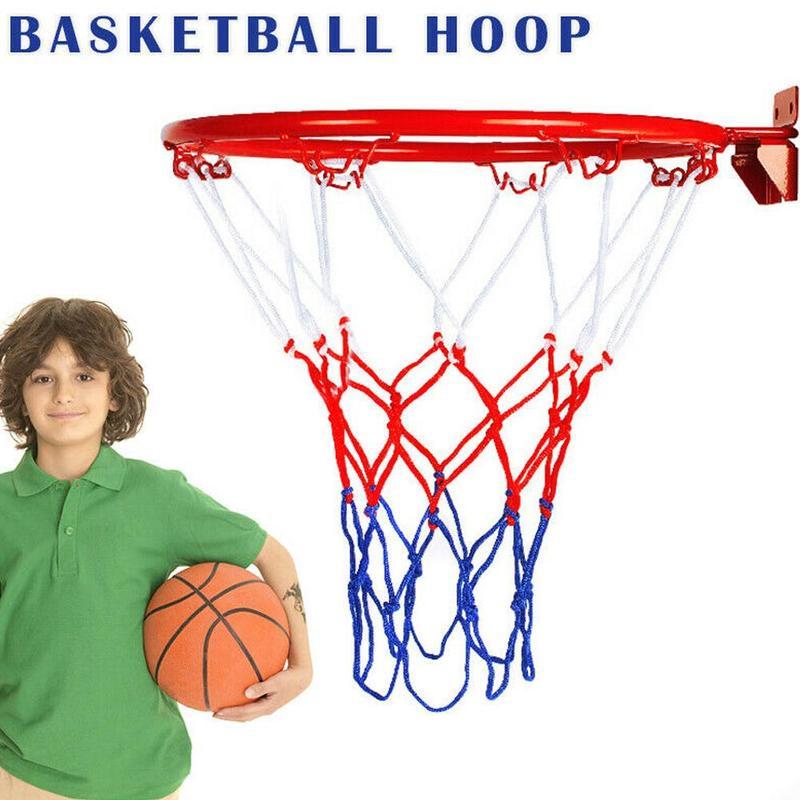 1 Set Children Basketball Hoop Outdoor Indoor Basketball Wall Mounted Goal Hoop Rim Net Sports Netting