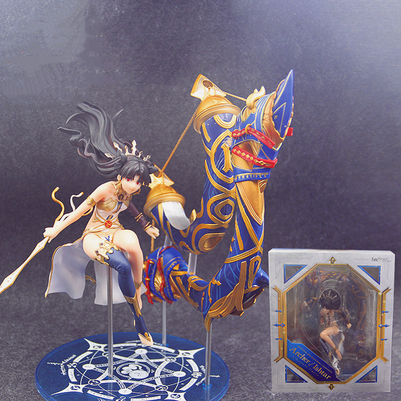 26CM Aniplex Fate Grand Order Archer Anime Figure Ishtar Action Figure Sitting Position Sexy Girl Dolls with Box F20426CM Aniplex Fate Grand Order Archer Anime Figure Ishtar Action Figure Sitting Position Sexy Girl Dolls with Box F204
