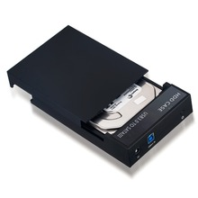 IN STOCK New USB 3 0 External 2 5 3 5 Hard Drive Enclosure Disk Case