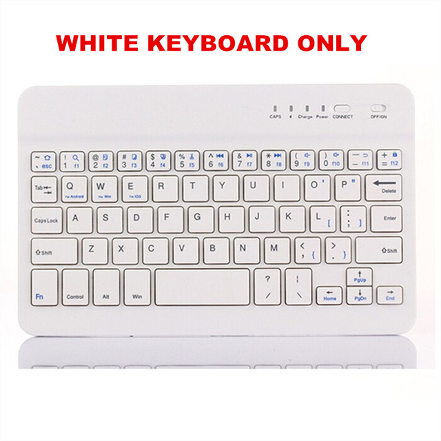 WHITE KEYBOARD ONLY