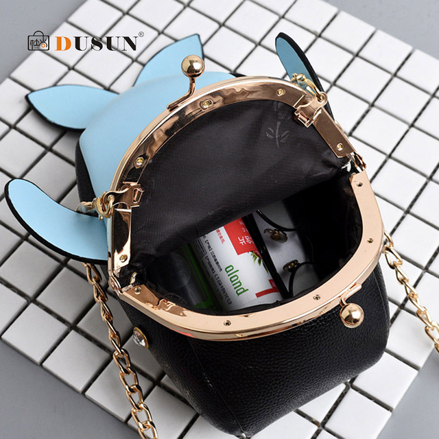 Dolphin Shoulder Bag Mini Women Handbag 3D Cartoon Animal Shape Crossbody Bags