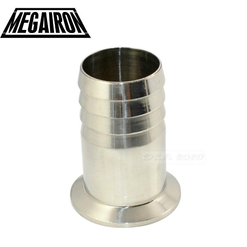 Sanitär Rohre & Armaturen Clever Megairon Edelstahl Wert Sus Ss316 Sanitär Schlauch Barb Rohr Fitting Ferrule Od 50,5mm Fit 1,5 tri Clamp