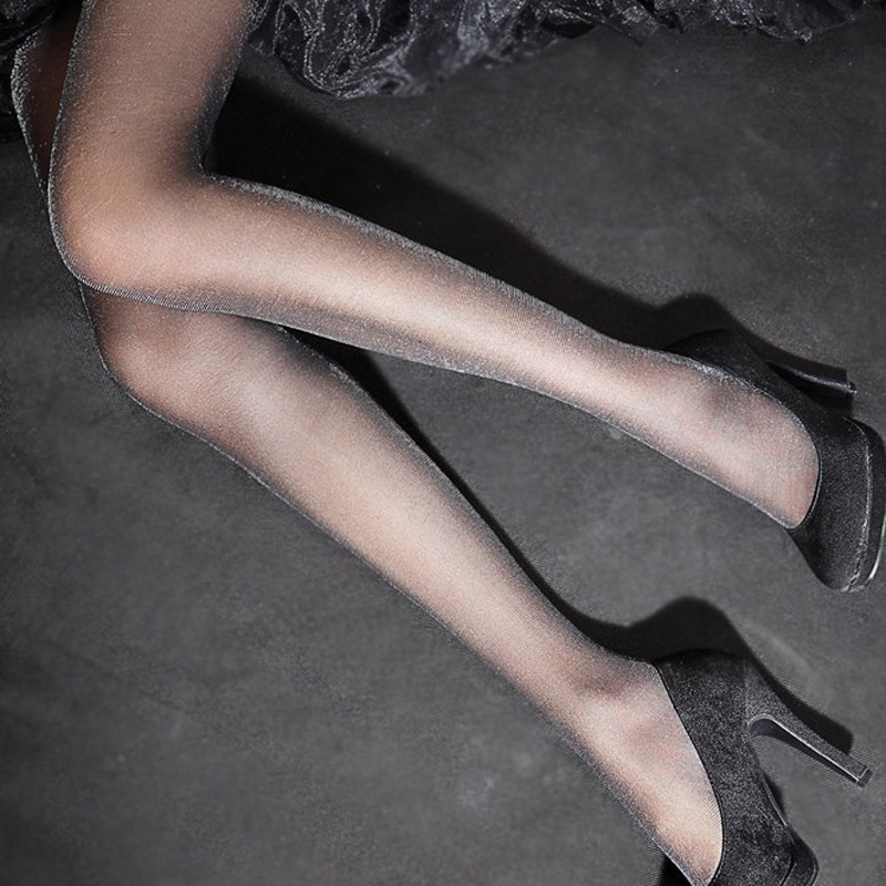1Pcs Sexy Shinny Female Stockings Pantyhose for Women Tights Pantyhose Hosiery Collant Femme Tights for Girls Womens Stocking