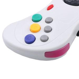 Image 5 - Kebidu Новый проводной геймпад USB, Классический игровой контроллер, геймпад для ПК, для системы Sega Saturn, стиль для ПК, горячая распродажа