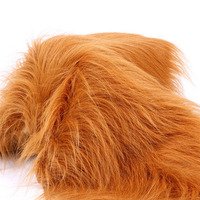 Multi Colors Option Plush Toy Fabric 1 Meter Luxury Long Hair Faux Fur Fabric