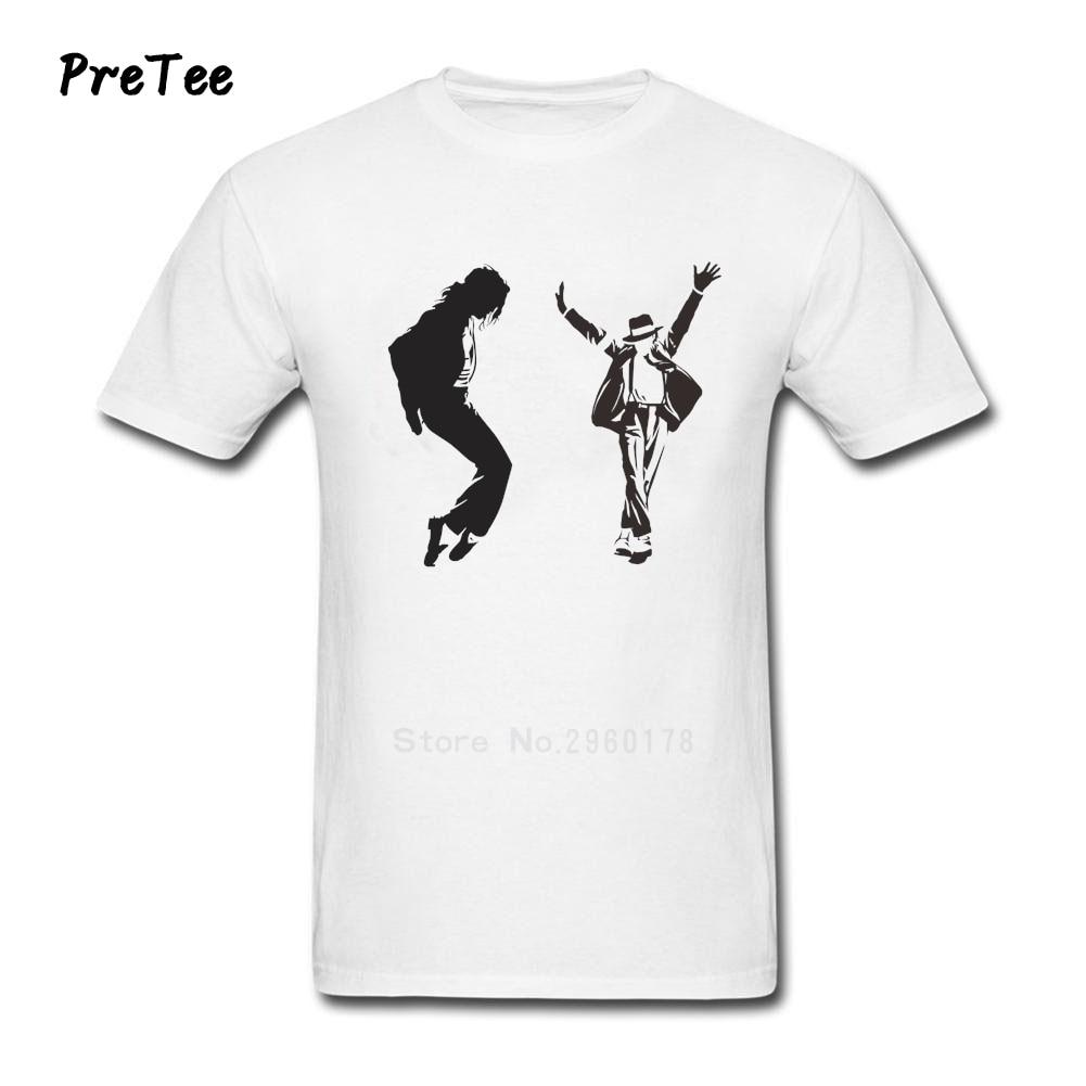 Black t shirt michaels - Michael Jackson T Shirt Man S Cotton Short Sleeve Round Neck Tshirt Guy Tee Shirt 2017 Fun