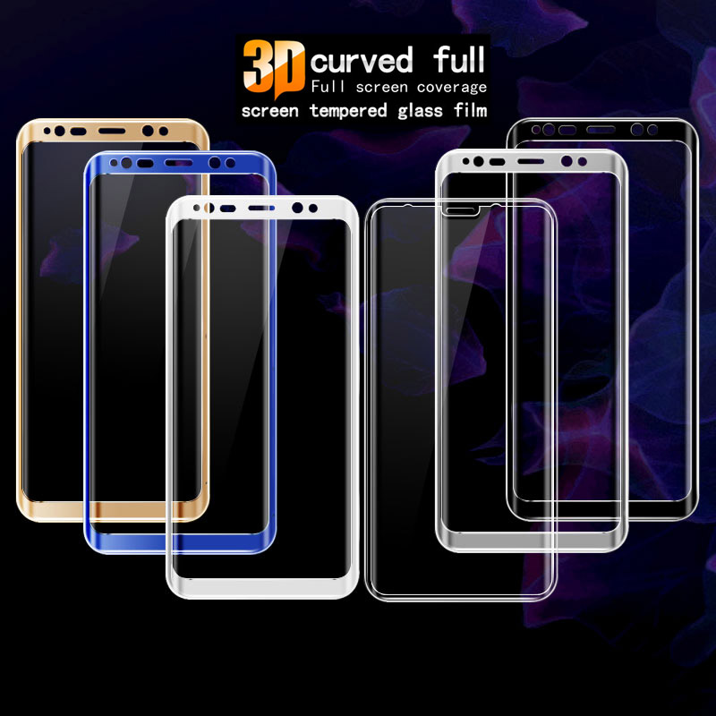 For SAMSUNG Galaxy S8 IMAK Glass 3D Curved 360 Full Cover Tempered Glass Screen Protective Film For SAMSUNG Galaxy S8 Plus Glass