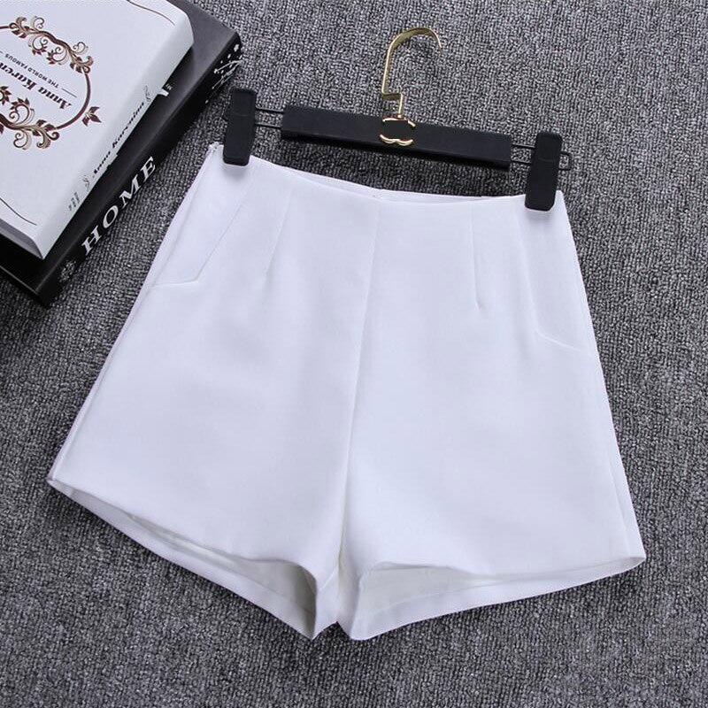 072b3a16d 2018 New Summer hot Fashion New Women Shorts Skirts High Waist Casual Suit  Shorts Black White