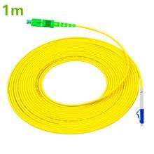 สายแพทช์ LC UPC SC APC 1 m สายเคเบิล LC G657A Optical จัมเปอร์เส้นใย PatchCord Simplex 2.0 มม. PVC สายขั้วต่อ SC