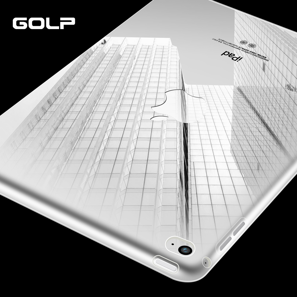 GOLP case for iPad Mini 4 Case for ipad mini 1 2 3 Transparent Silicone Soft TPU Back cover for ipad mini 4 Case silicon case for ipad 2 3 4 5 6 air 1 mini 1 2 3 4 clear transparent case soft tpu back cover tablet case for ipad 9 7 2017 2018